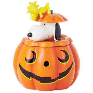 Snoopy and Tucker's Candy Cans [Hallmark-Halloween Series]