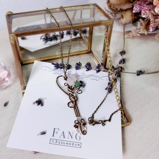 【vine. Branch buds] crystal crystal dual-use bookmarks long chain