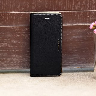 iPhone 6 PLUS /6S PLUS / 5.5 inch Slipcase Series Leather Case - Black