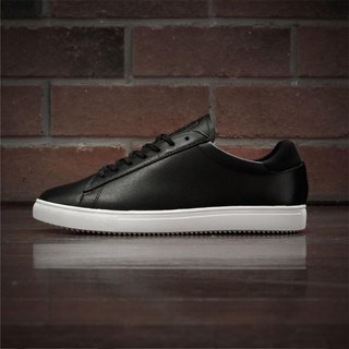 CLAE x DYCTEAM - BRADLEY Black Milled Tumbled Leather Shoes