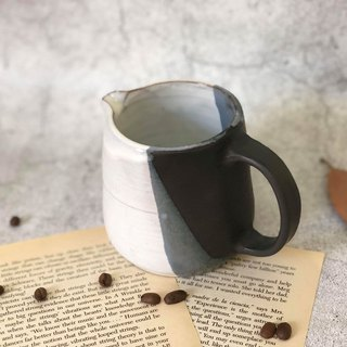 Nordic black and white simple cup
