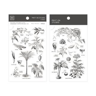 [Print-On Stickers] | Flowers Series 29-100 Sketches |