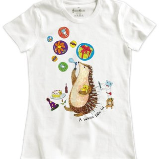 Classic White Short Sleeve T-Shirt_A Whole New Me(Female M out of stock)