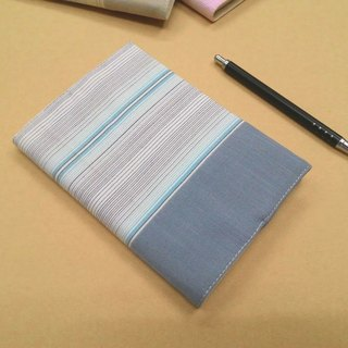 Exquisite A6 cloth book clothing ~ light blue (unique goods) B04-026
