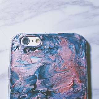Experimental series ll The softest place in my heart Tender ll Hand painted oil painting phone case