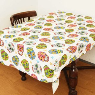 Pre-ordered Mexican skull head cloth / napkin (two colors) ISAP6289
