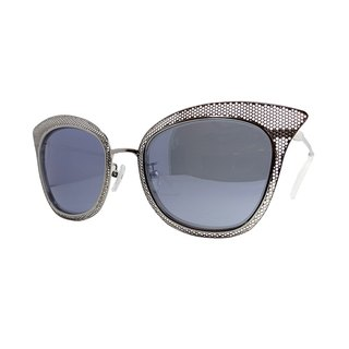 【ZALES】 Sunglasses combination of 2-silver white Cobwed-2 sunglasses