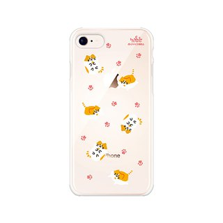 Hello DunDun series of transparent jelly mobile phone soft shell 13. Louis