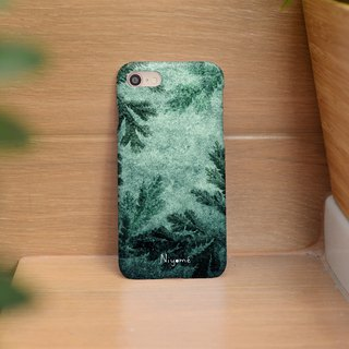 iphone case green forest fern for iphone5s, 6s, 6s plus, 7, 7+, 8, 8+, iphone x