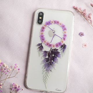 Cancer Pressed Flower Dreamcatcher Phone Case | 12 Zodiac