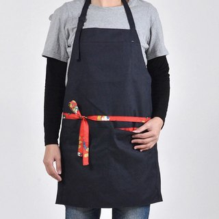 Fashion work apron - navy