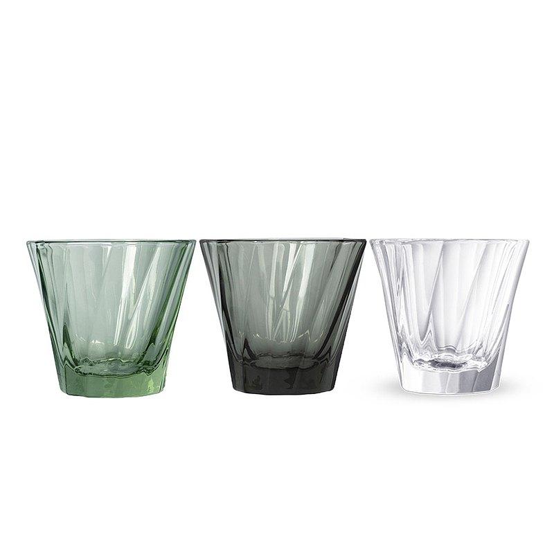 LOVERAMICS 愛陶樂 現代玻璃系列 120ml 光折哥達多玻璃杯 (透明)