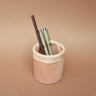 Desk Organizer, Storage Leather, Stationery Holder, Pen Holder, Leather Basket