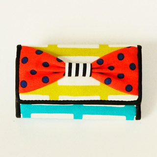 key holder wallet multicolor colorful ribbon Assistant Director dots borders