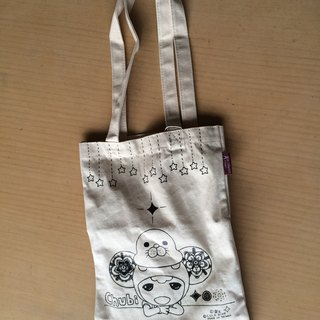 Coke king-A4 canvas book bag - small chirp (9MADOA001)
