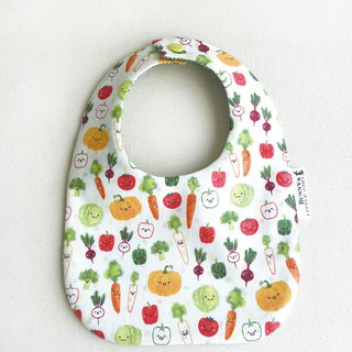 Double-sided bib - dishes