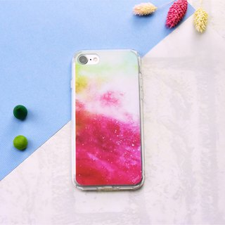 Starry Series [绯红晚霞] - iPhone/HTC/Samsung/OPPO Mobile Shell Case
