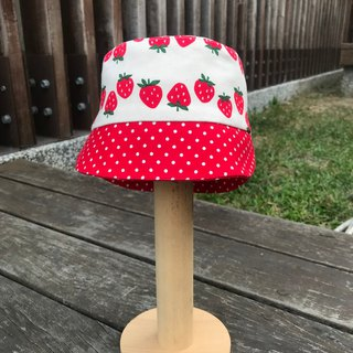Strawberry hat - double-sided wear
