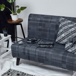 DYCTEAM - Denim Sofa Denim Double Flower Seating Sofa