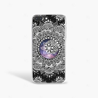 Moon iPhone 7 Case Clear iPhone 8 Case iPhone 7 Plus Clear Case iPhone 6 Plus