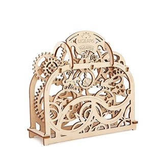 /Ugears/ Ukrainian wooden model theater Theater