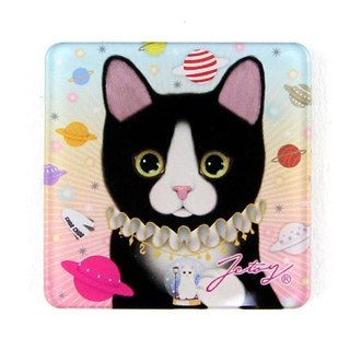 JETOY, Sweet Cat Founder Fridge Cat Magnet (4 * 4cm) _Universal J1707210