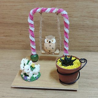 Animal Garden Party ‧ Succulents
