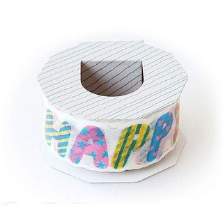Japanese paper tape - color birthday