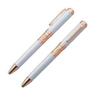 【Chris & Carey】 Toki Time Series (Lettering) / Plain Pearl White Pen TKBP-01