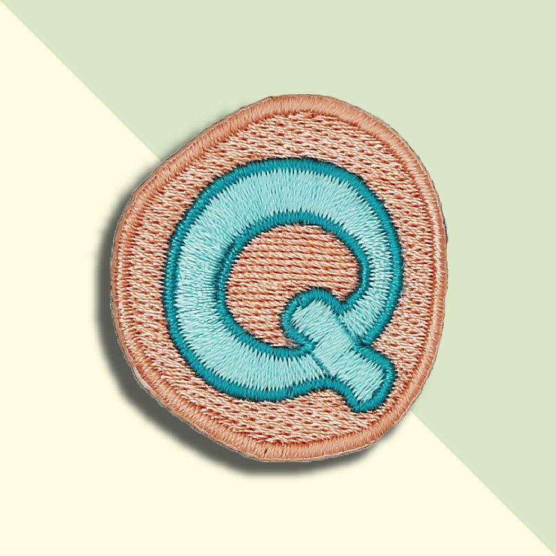 童趣刺繡貼-Q