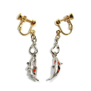 Fishing tie earrings EA 093