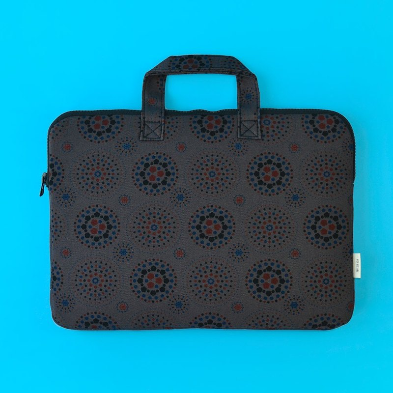 "13"" Laptop Case / Firework / Dark Night Grey"