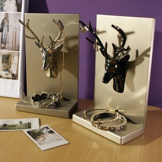 【4U4U】 Bailu jewelry shelf book block Antler Accessory Rack & Bookend