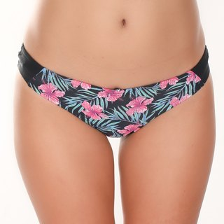 Pink lily bikini pants with secret pockets