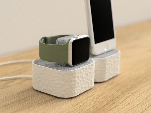 apple watch holder, apple watch stand, apple watch dock, apple watch dock women, gift for her, gift for him, docking station, hammered