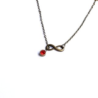 ∞ infinite ∞ lucky bracelet / necklace bronze