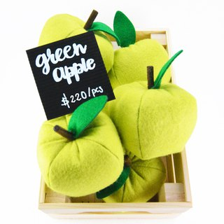 GREEN APPLE felt toys