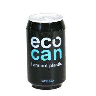 PLAStudio-ECO CAN-280ml-Made from Plant-Black