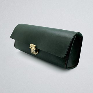 Leather Pencil Bag (16 colors / engraving service)