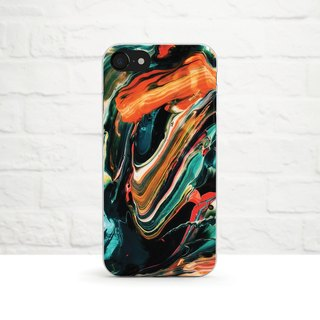 Marble, Coloful, Clear Phone Soft  Case, iPhone X, iphone8, iPhone 7, iPhone 7 plus, iPhone 6, iPhone SE, Samsung