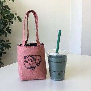 Cafe bag hippopotamus Minitoto