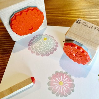 【Japan Stamp】 Chrysanthemum Stamp 3 Pieces Set