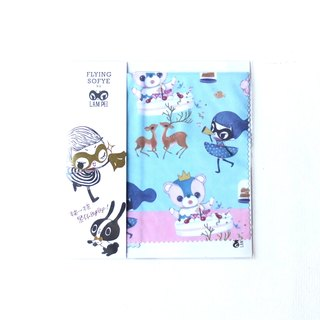 Glasses cloth wipe the mirror cloth. Flying Sofye Sufei cute illustration