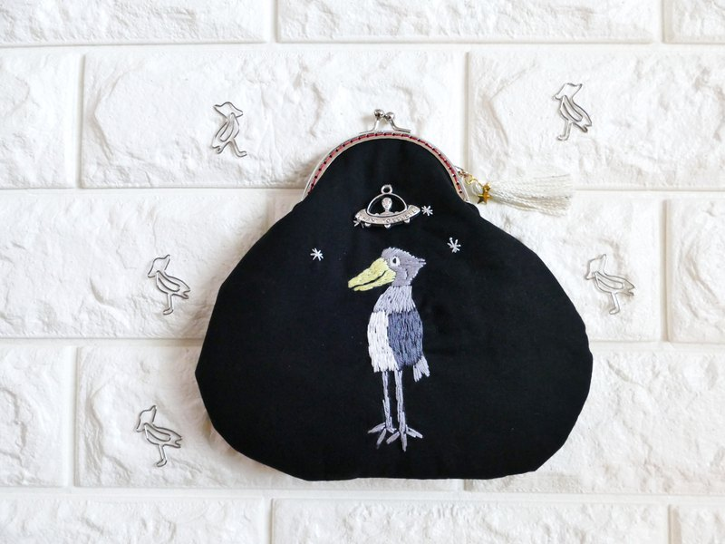 An embroidery tailwalk that is taken to UFO
