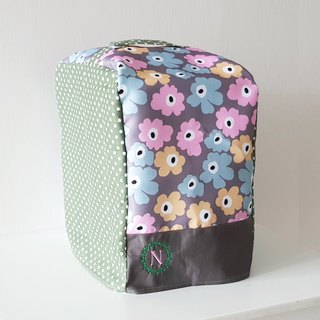 Bread Maker Cover (Pastel Big Flowers)
