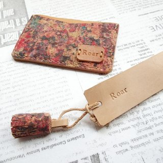 100% hand-stitched leather/light business card holder/credit card leisure card banknote storage/card holder/bookmark/customized/gift box