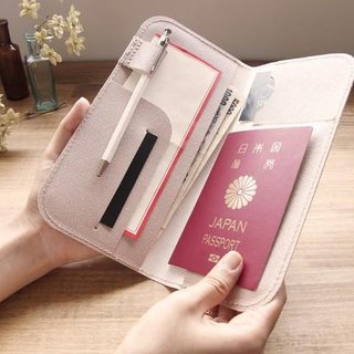 Passport holder (champagne pink gold)