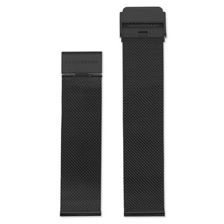 HYPERGRAND Strap - 22mm - Black Milan Belt (Black Buckle)