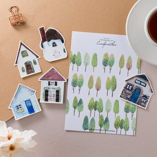Kairuo Forest Town / Small House I Sticker Pack