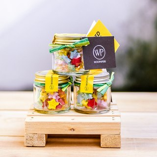Mini Star Surprise seed balls jar
